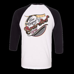 BF True Original 3/4 Sleeve Baseball Raglan Thumbnail