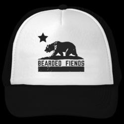 BF California Bear Republic Trucker Hat Thumbnail