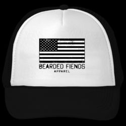 BF American Flag Trucker Hat Thumbnail